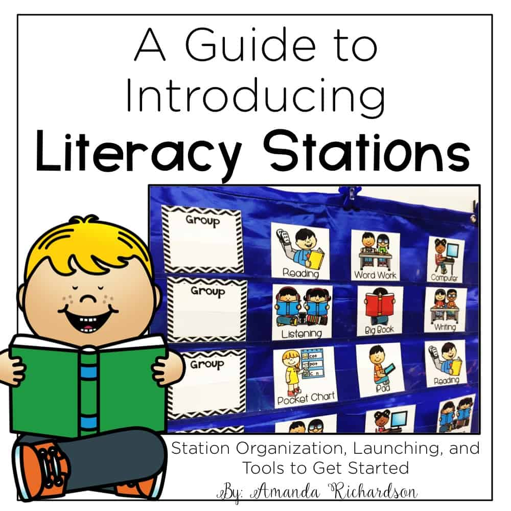 Are you ready to get started with literacy stations but aren't sure where to begin? Do you want LESS prep work each week and MORE engaging activities for students to practice reading skills? This guide is perfect for just that!