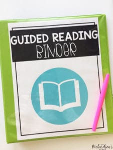 See how this teacher uses her guided reading binder to help her keep track of the teaching points she has taught students.