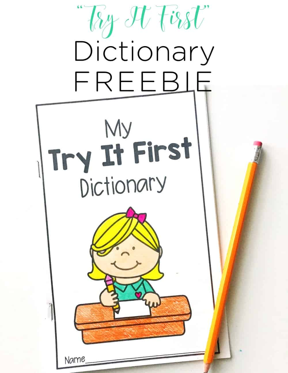 Using a Try It First dictionary has totally changed the attitudes and self esteem of my little writers!