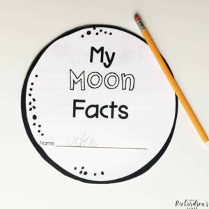 Blast off into space and explore the moon as students learn through this science unit and write about objects in the sky!