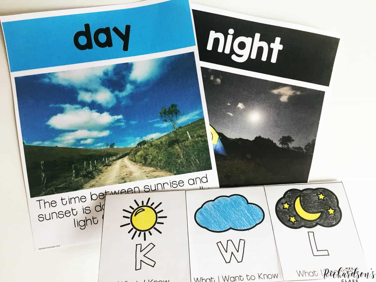 Explore day and night with these engaging and exciting activities for your first grade students! Use the unit teaching plan to guide you throughout the week!