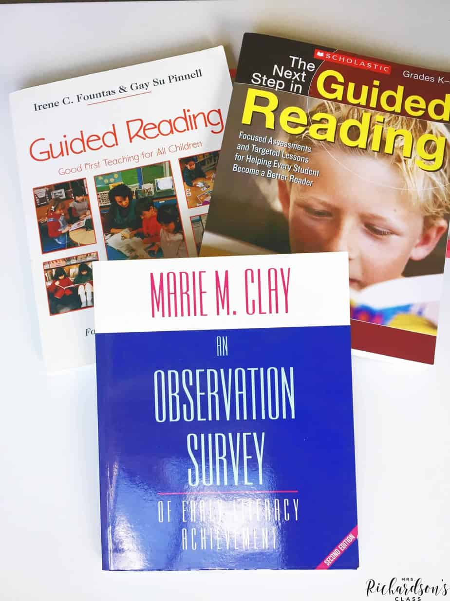 If you are looking to improve your guided reading skills, these books are must-haves! They share everything from what each reading level looks like to even setting up for the time!