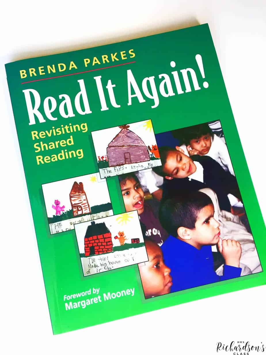 This book is great for teachers as they prep and plan for shared reading in their kindergarten and first grade classrooms!