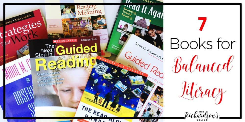 If you are looking to dig your feet into balanced literacy, these books are for you! They are easy reads, filled with great info, and helped me so much!