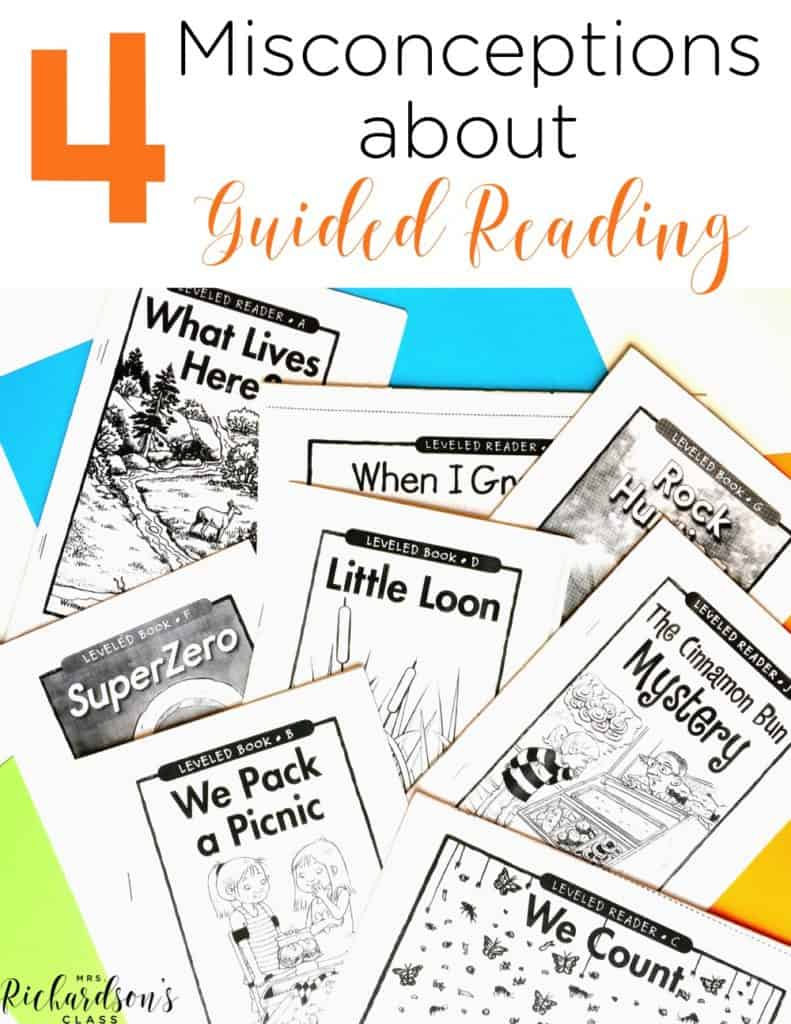 Guided Reading Misconceptions