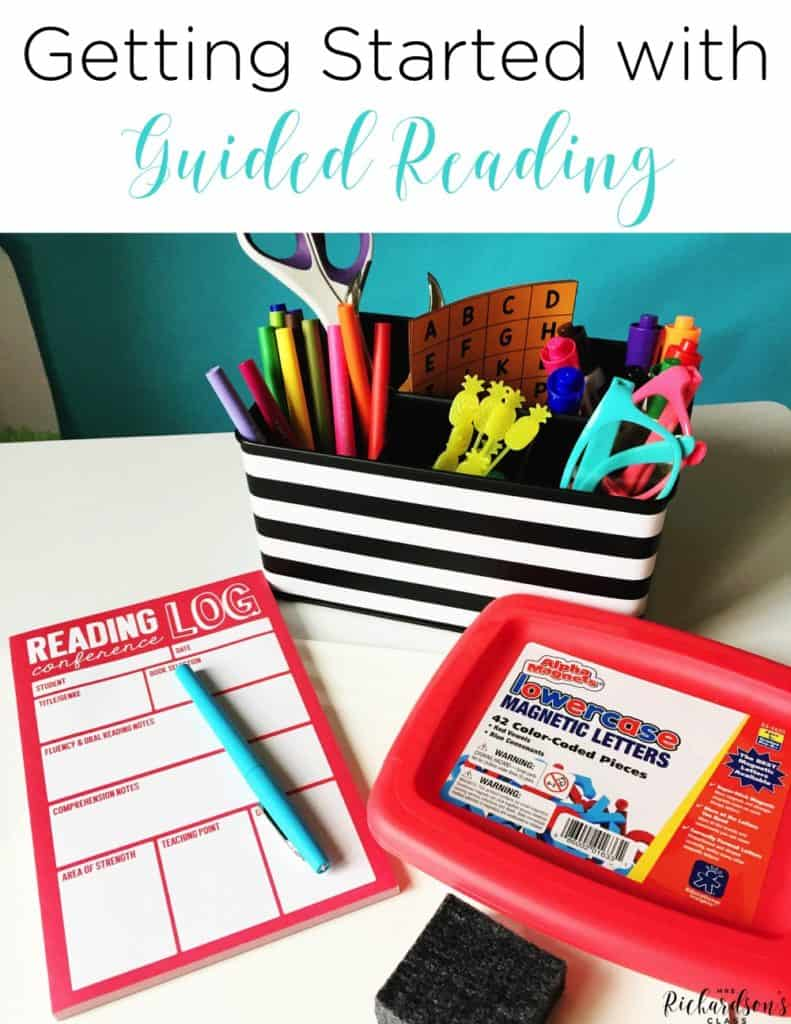 Are you looking to get started with guided reading, but aren't quite sure how? These 5 steps help you map out your path to launching guided reading in your classroom!