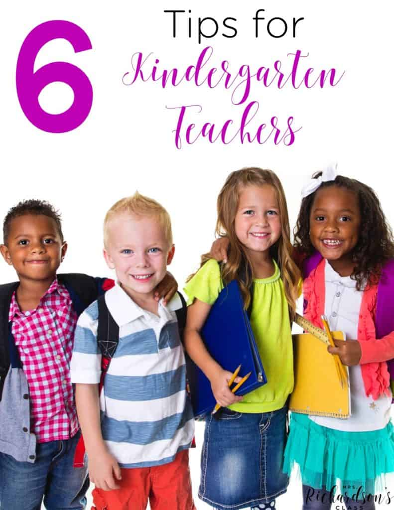 Being a new kindergarten teacher can be overwhelming, but I quickly fell in love. Here are 6 simple tips for kindergarten teachers to remember as they make the transition.