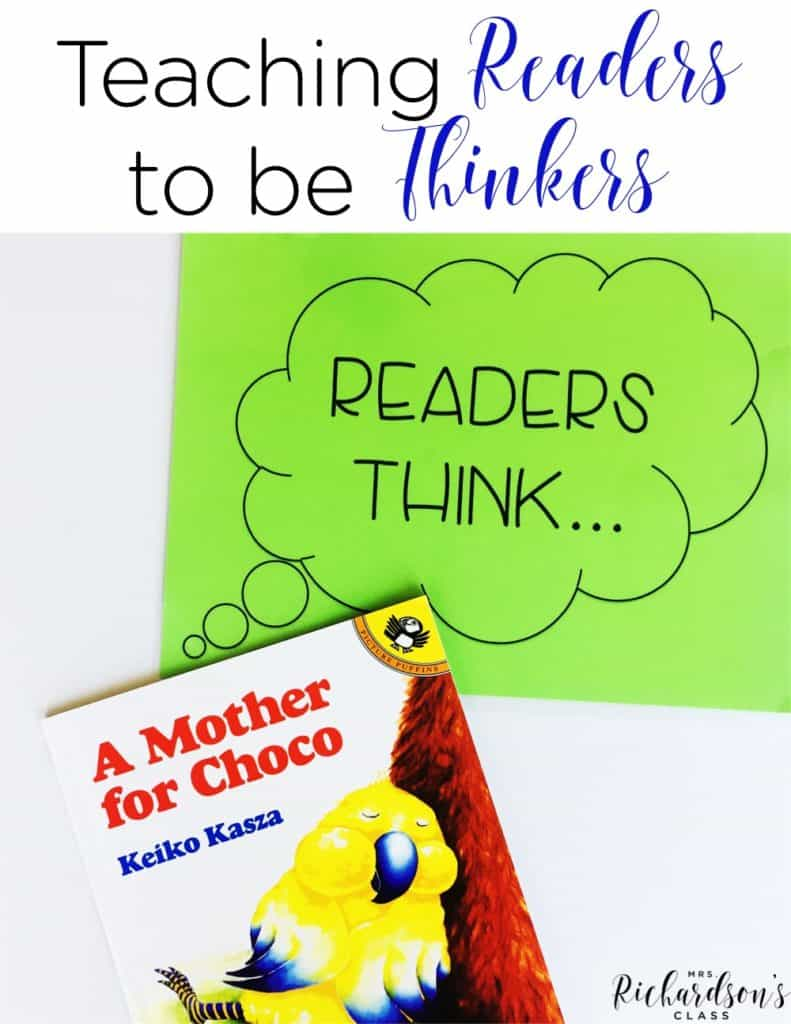 Teaching Readers to be Thinkers