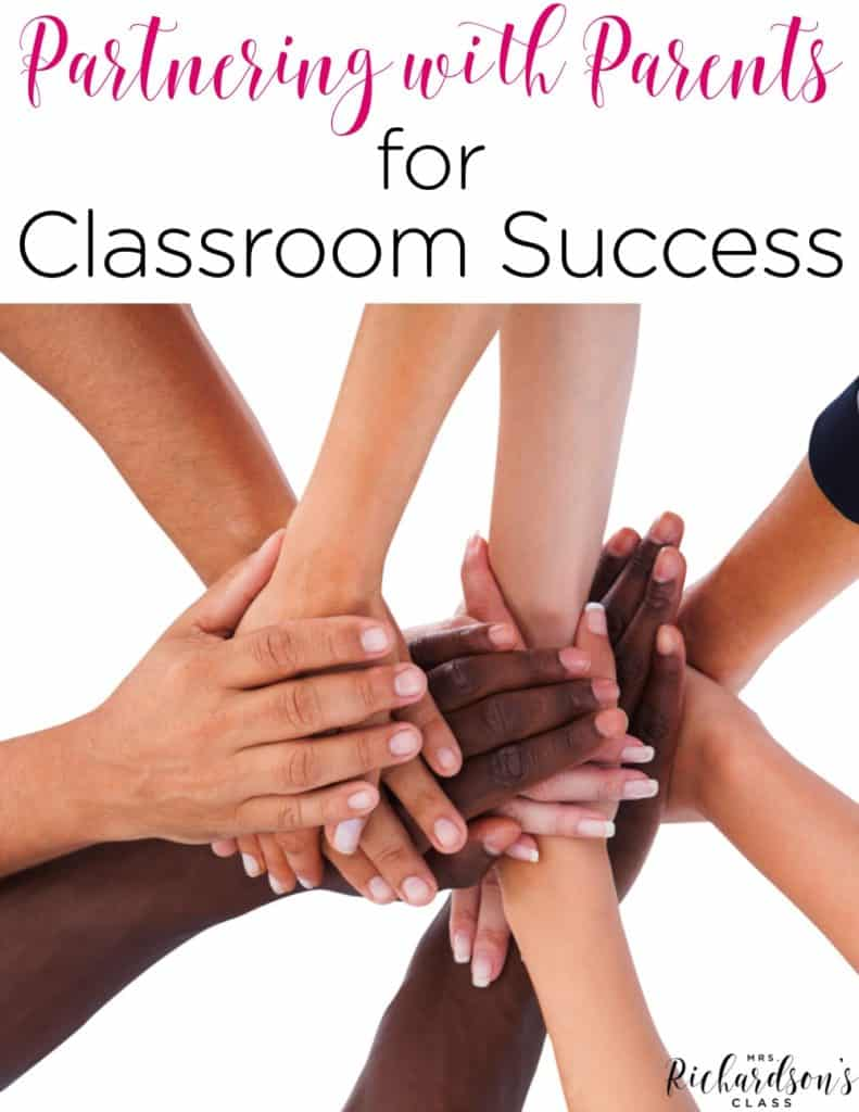 Partnering with Parents for Classroom Success