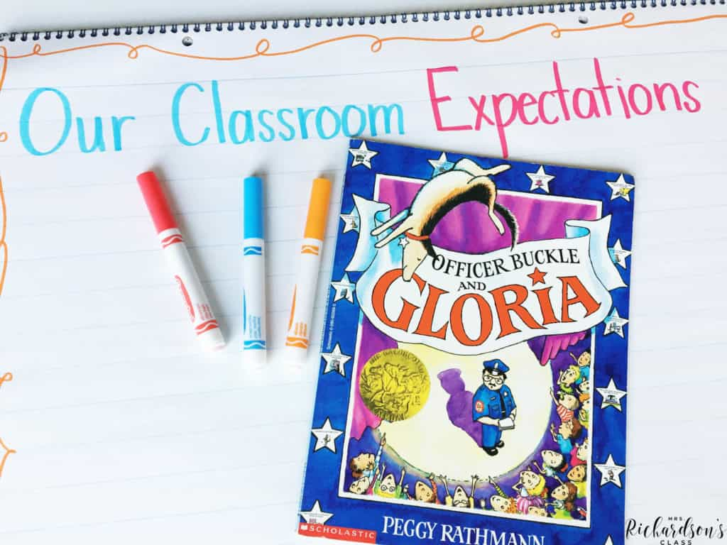 Teaching classroom expectations is made simple with this popular read aloud during back to school time!