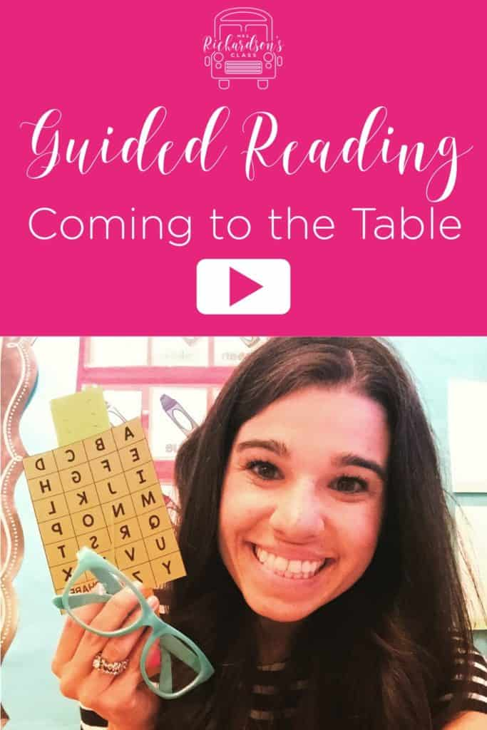If you are looking to get started with guided reading, here is a great video tutorial on what you need as you prepare to come to the table!