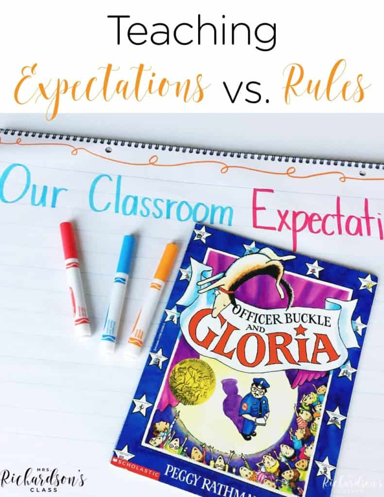 Teaching Expectations vs. Rules