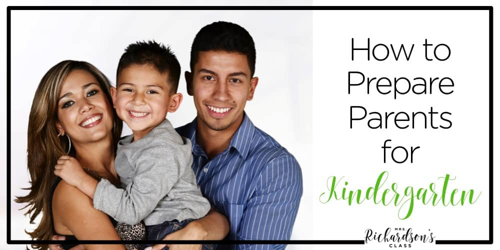 As teachers, we wants parents to prepare their kids for kindergarten, but as teachers, we can help prepare the parents for the year with these 5 simple tips.