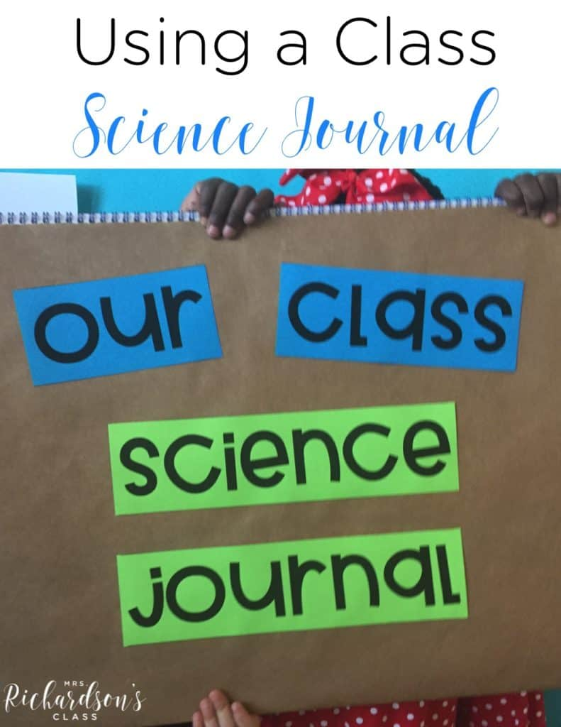 Class Science Journal