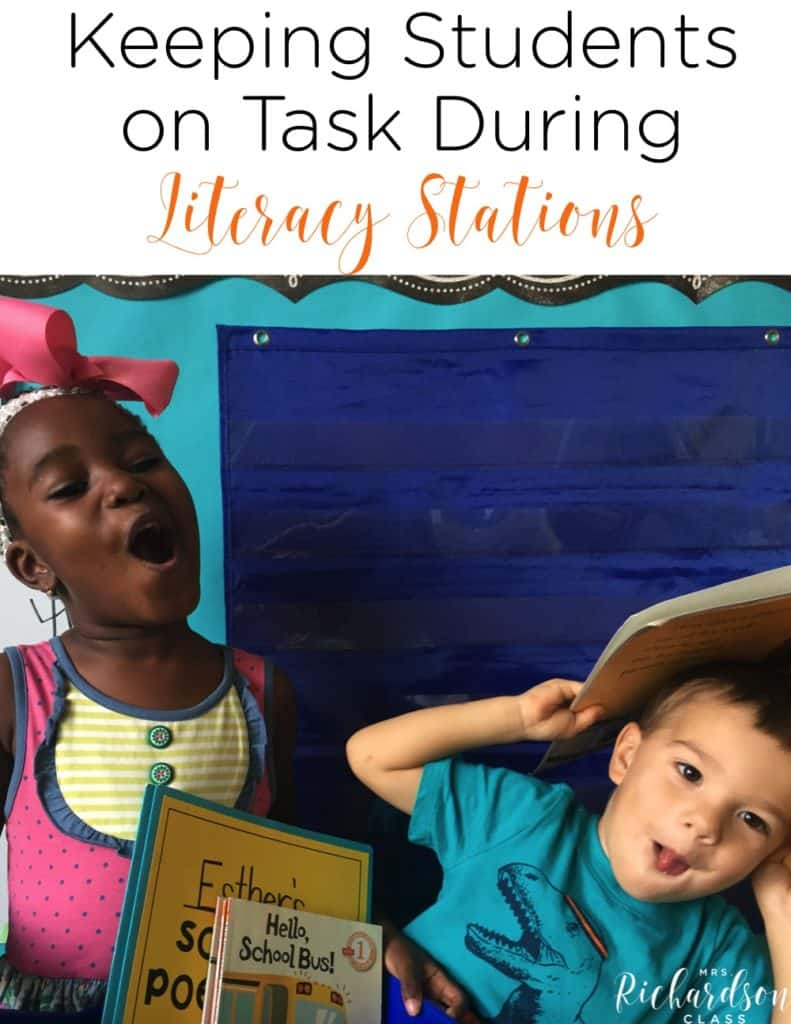 Do your little learners struggle to stay on task during literacy stations? Check out this list of tips for literacy stations to help ensure that your students are staying engaged!