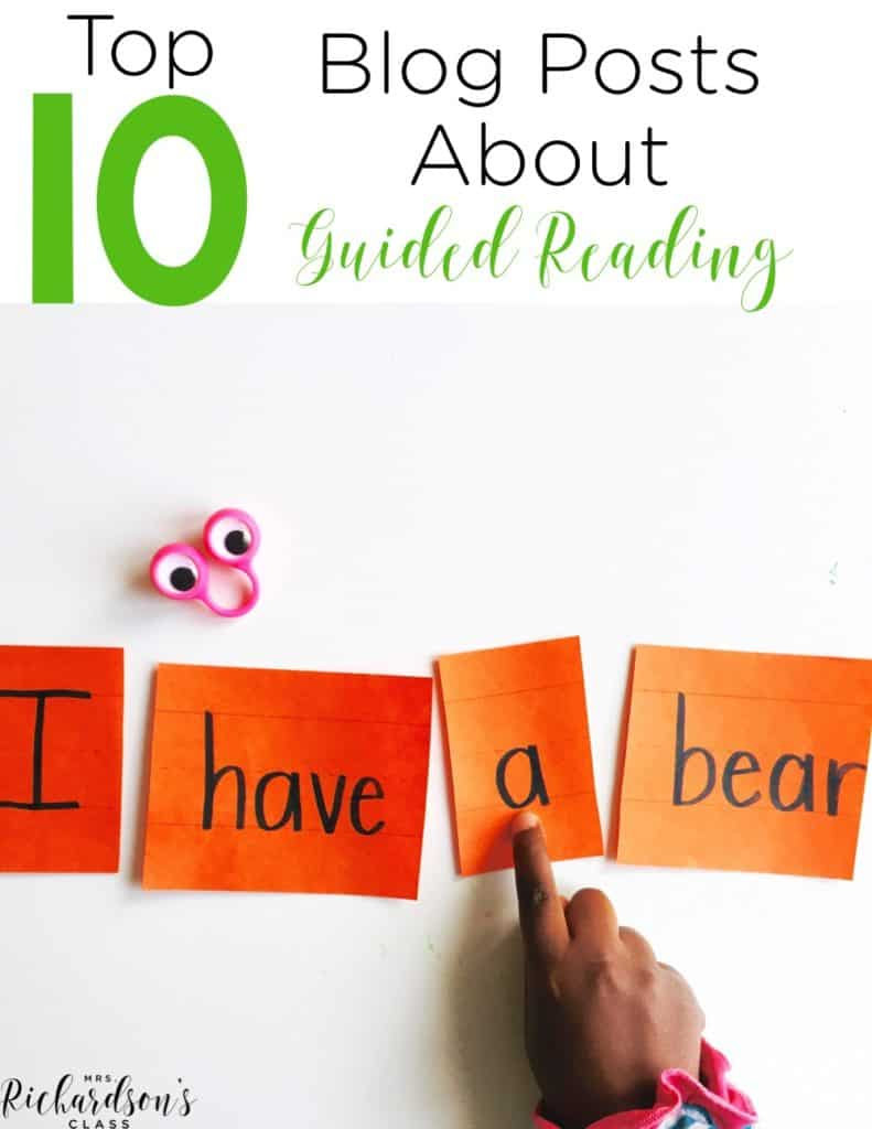 Beginning guided reading can feel like conquering a mountain! Check out these top 10 must read blog post about guided reading to help you get started!