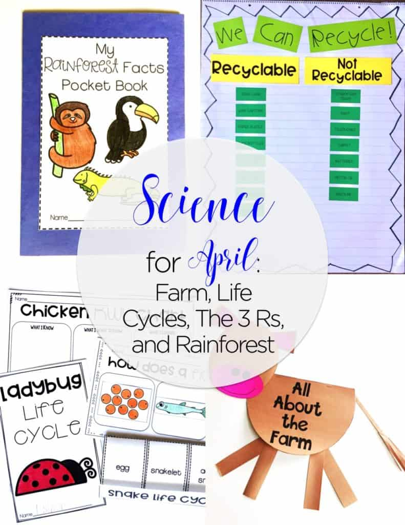 Teaching Science for April
