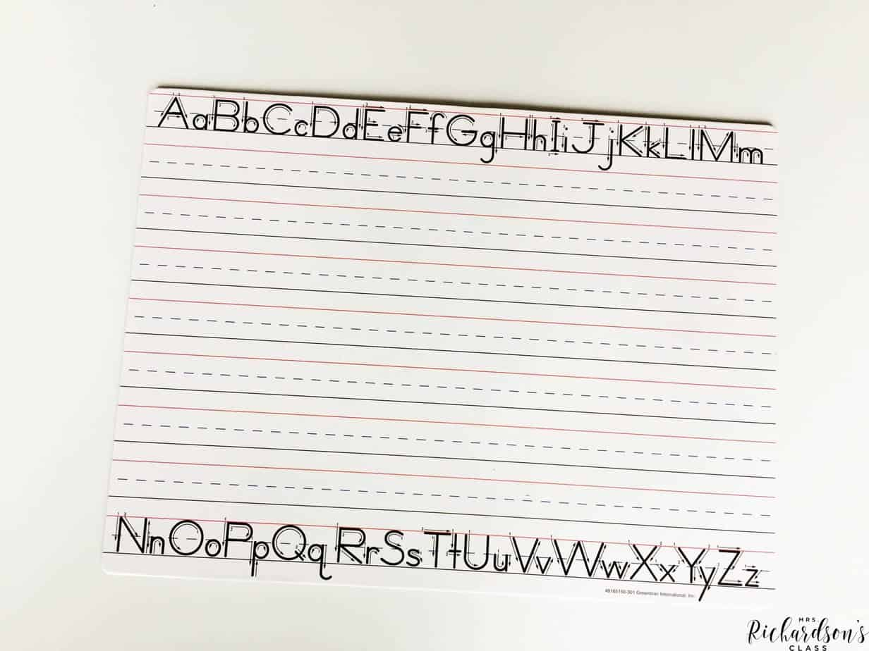 Dollar Tree dry erase boards are perfect for guided reading!