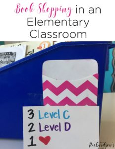 Book shopping in an elementary classroom can seem like a BIG task, but it doesn't have to be! Maybe you have put it off, like I did, for many years. But sharing all of your wonderful books with your kindergarten and first grade students is SO helpful! See how this teacher learned to simplify book shopping for her students.