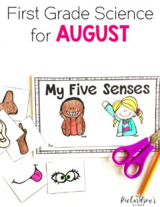 Be set for August and start the school year strong be tackling these science concepts! Your first grade and even kindergarten students are sure to be engaged with these science experiments, shared reading poems, interactive notebook pages, and much more!