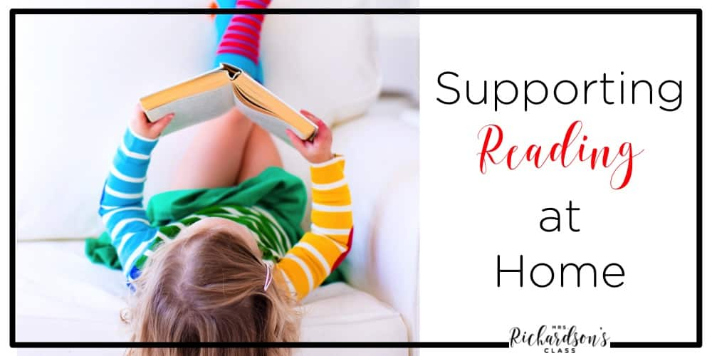 Supporting little readers at home is important in helping them develop their love of reading! Use these easy tips in your home to help foster a love of reading!