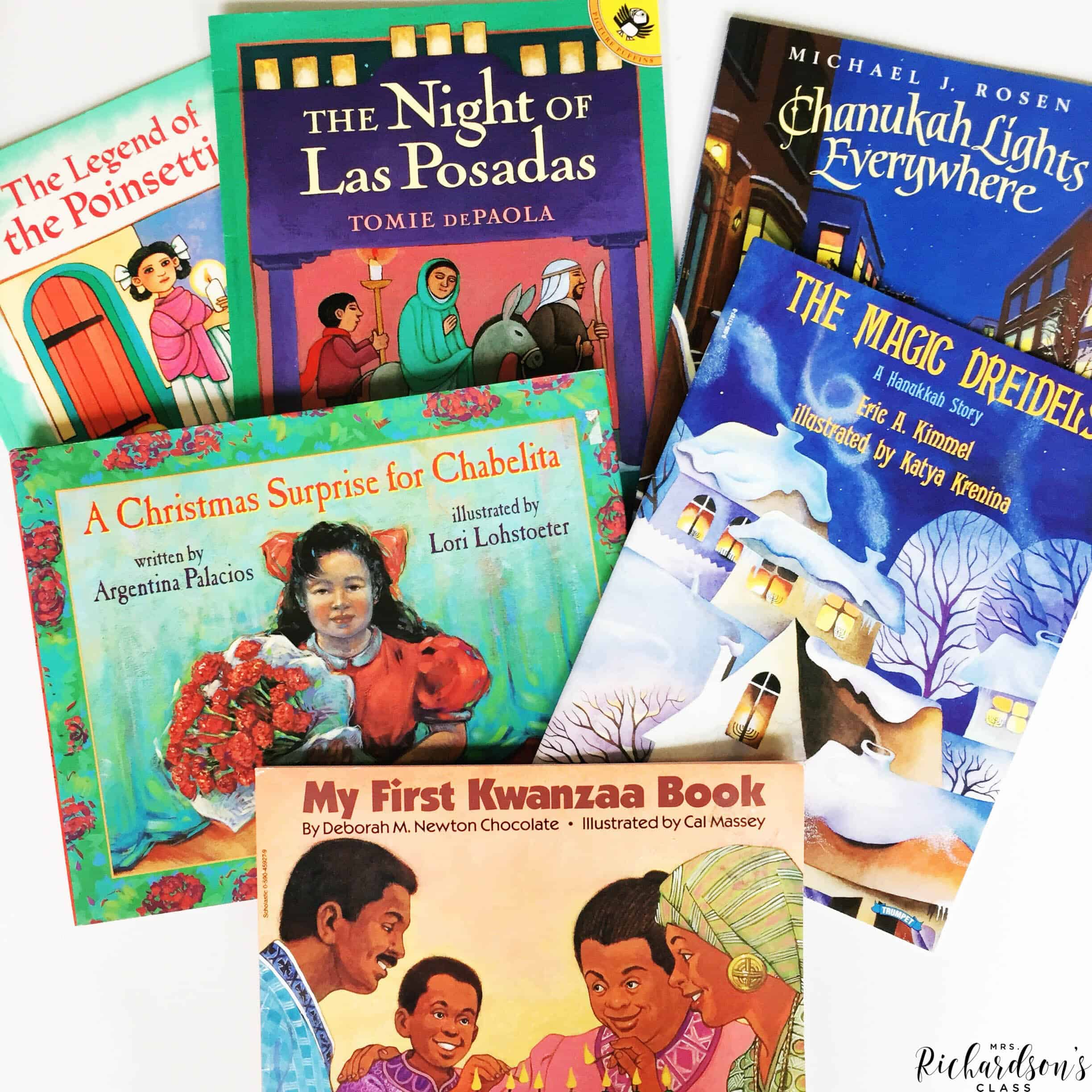 These books are perfect read alouds for discussing family traditions in the classroom. Use them as you explore holidays around the world with your kindergarten and first grade classrooms.