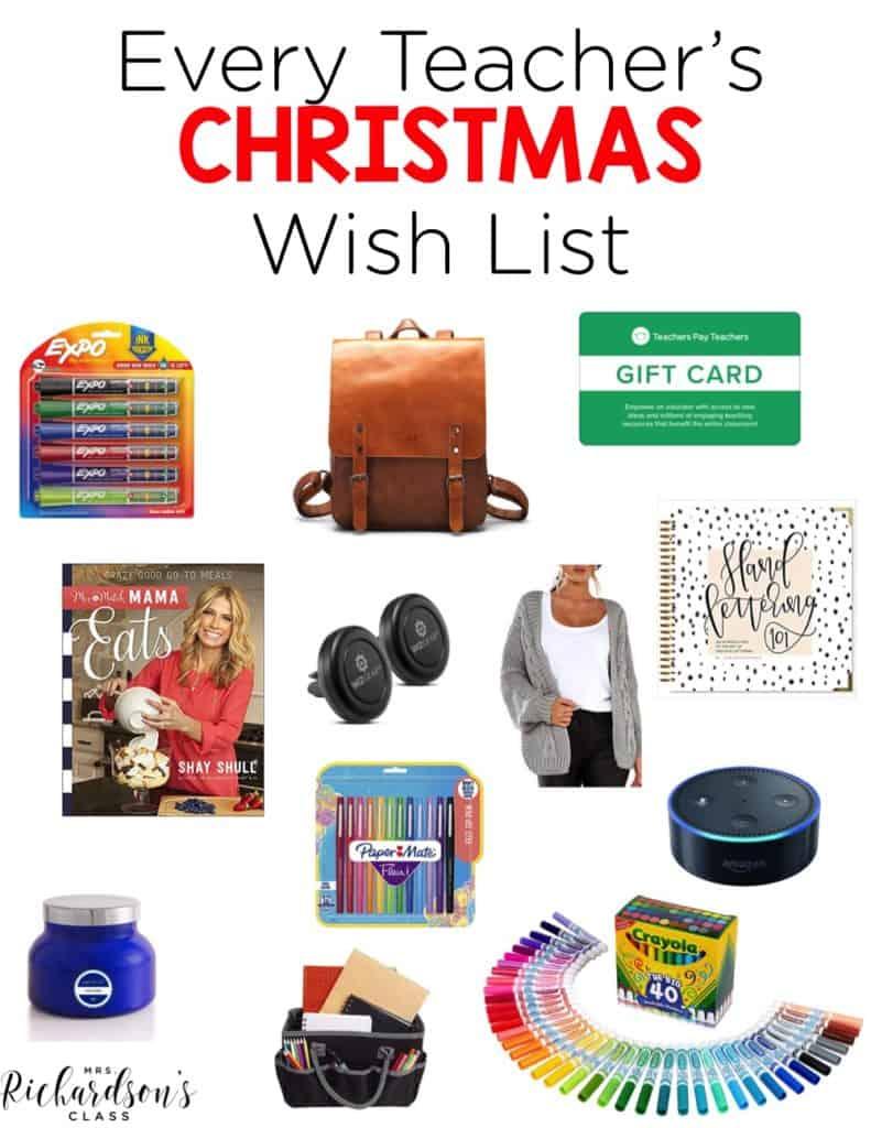 Every Teacher's Christmas Wish List