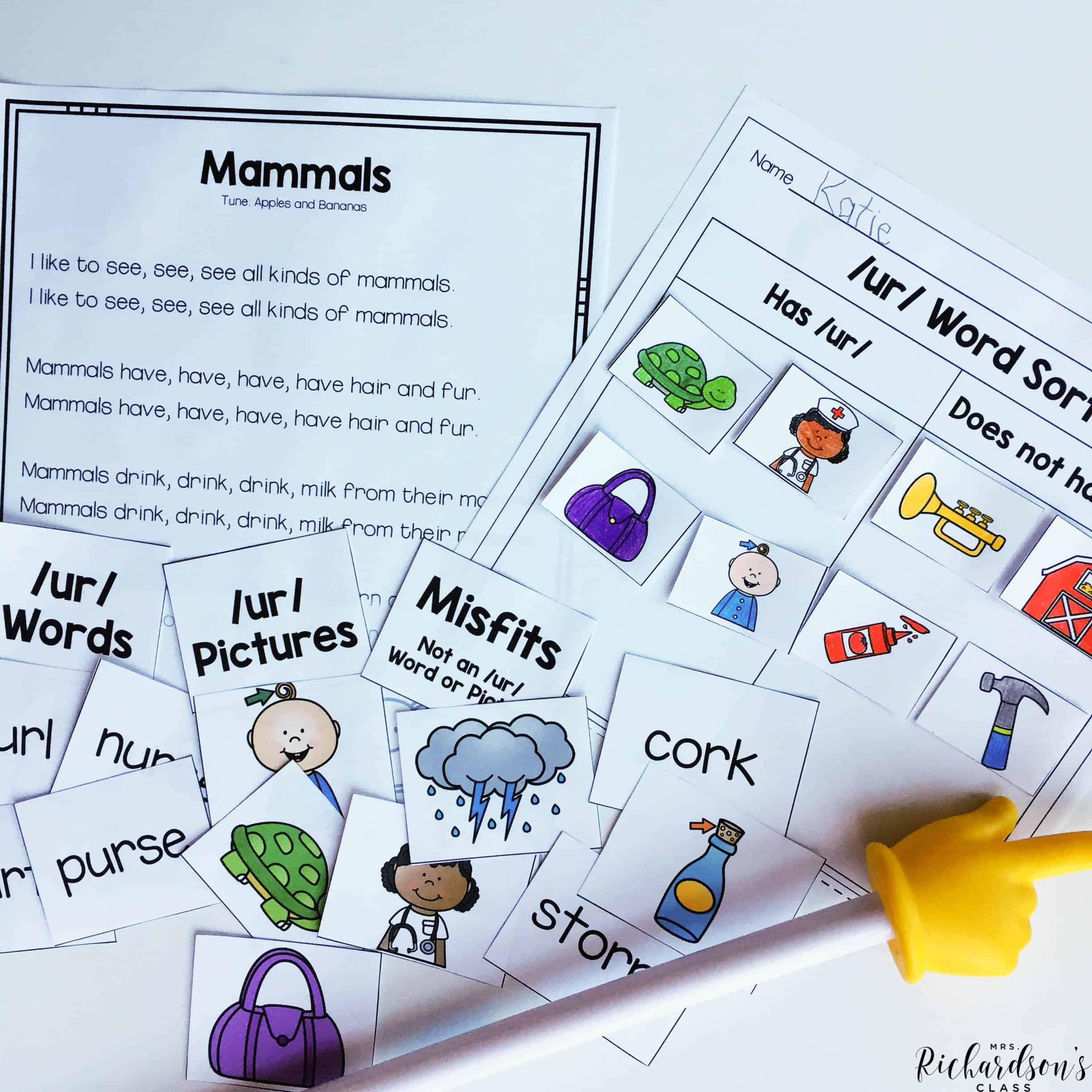 Use this shared reading activity to integrate science into your literacy block. It is complete with a 5 day teaching plan, including a phonics activity. This shared reading is perfect for your first grade readers.