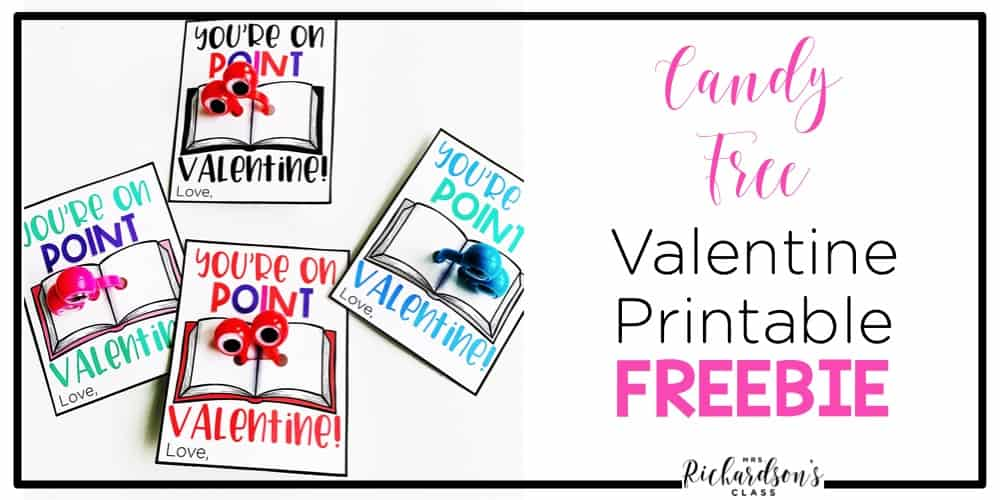 If you are looking for a candy free valentine for your child or students, grab this free printable! Pair them with dollar store googly eyes and you are set.
