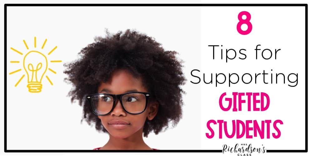 Supporting gifted students