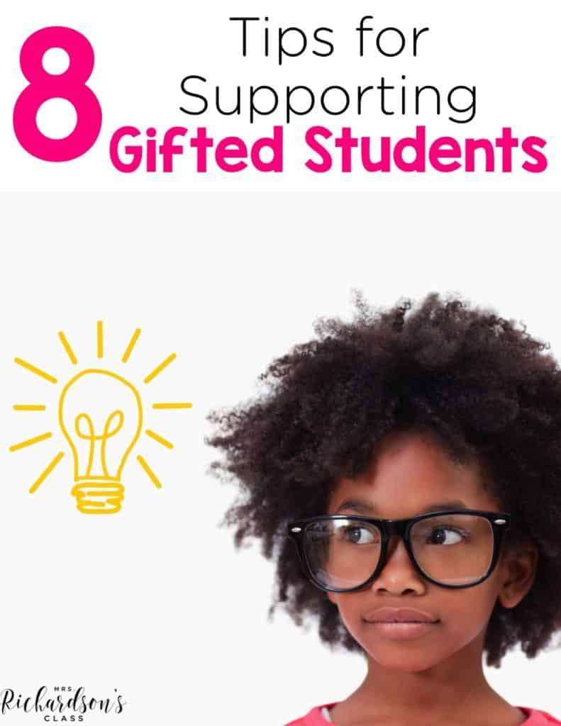 8 ways to support gifted students