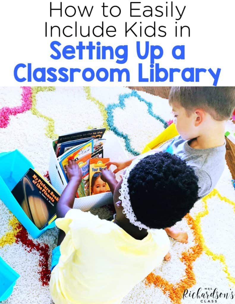 How to Set Up a Classroom Library and Include Kids Easily