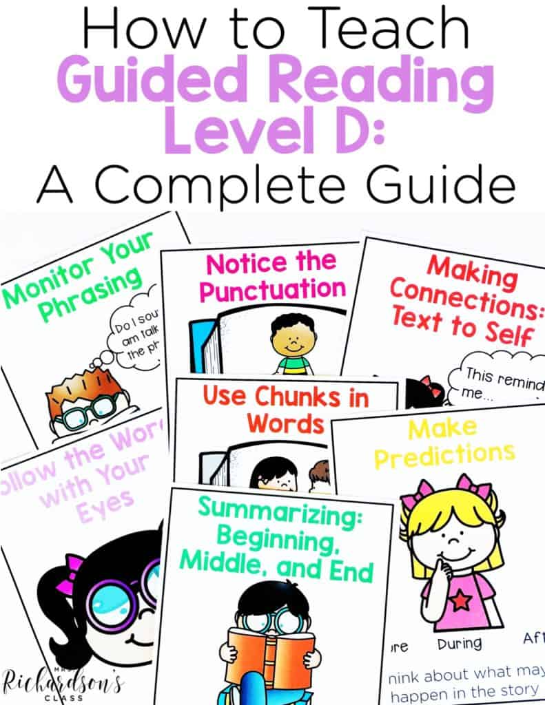How to Teach Guided Reading Level D: A Complete Guide