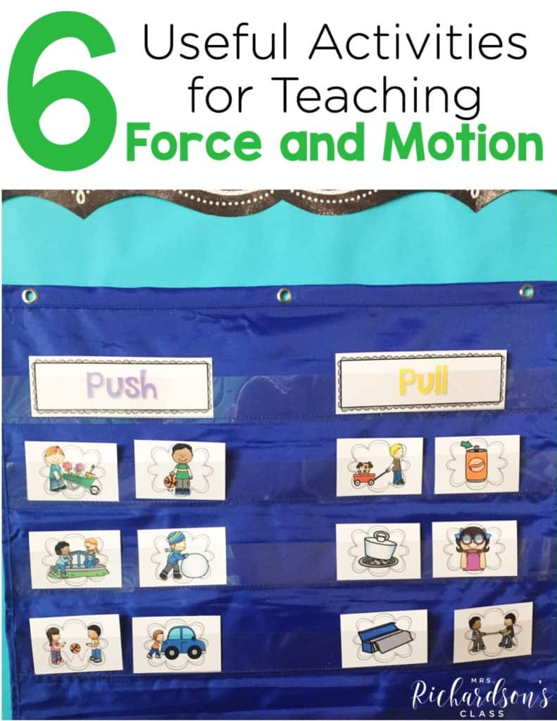 How to Teach Force and Motion {6 Useful Activities}