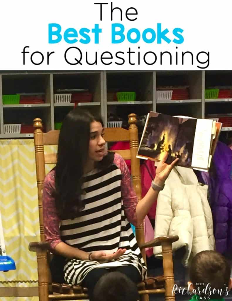 The Best Books for Questioning {+ Teaching Tips}