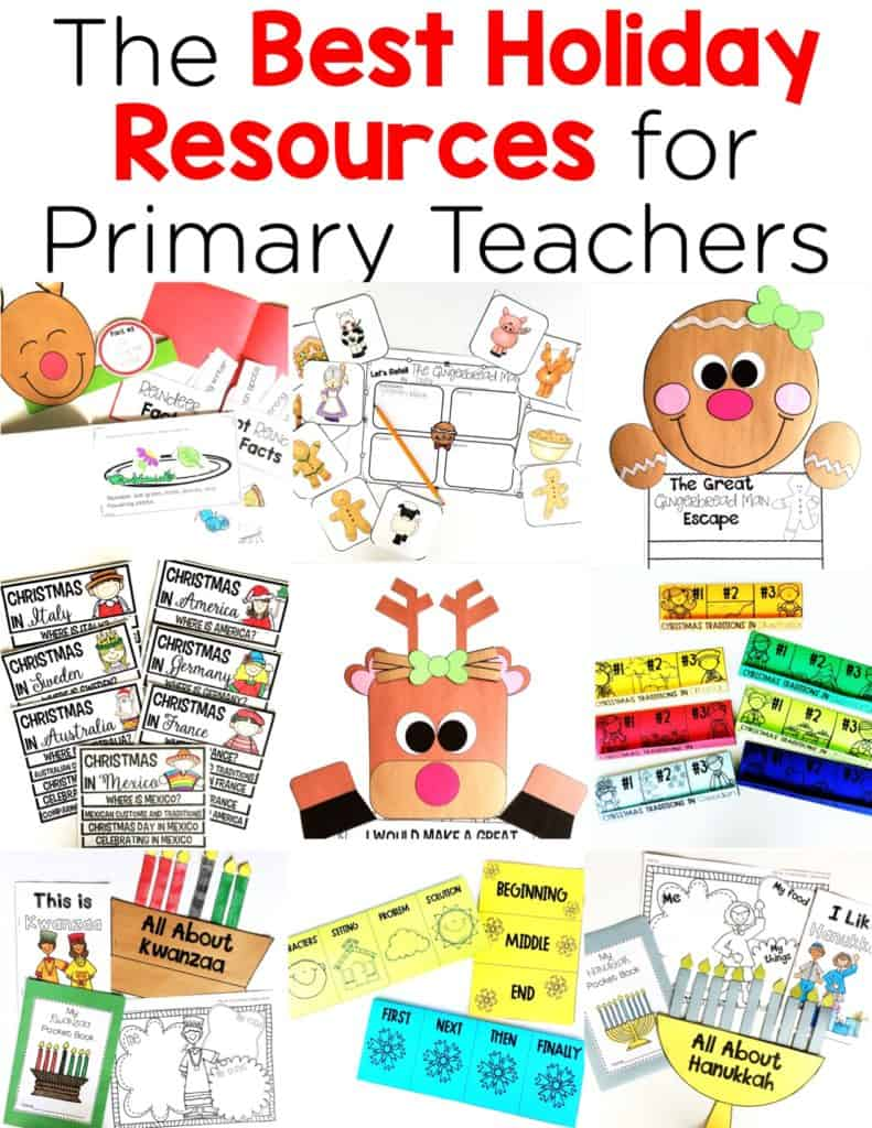 The Best Holiday Resources for Primary Teachers