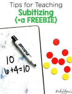 Subitizing Free Resource