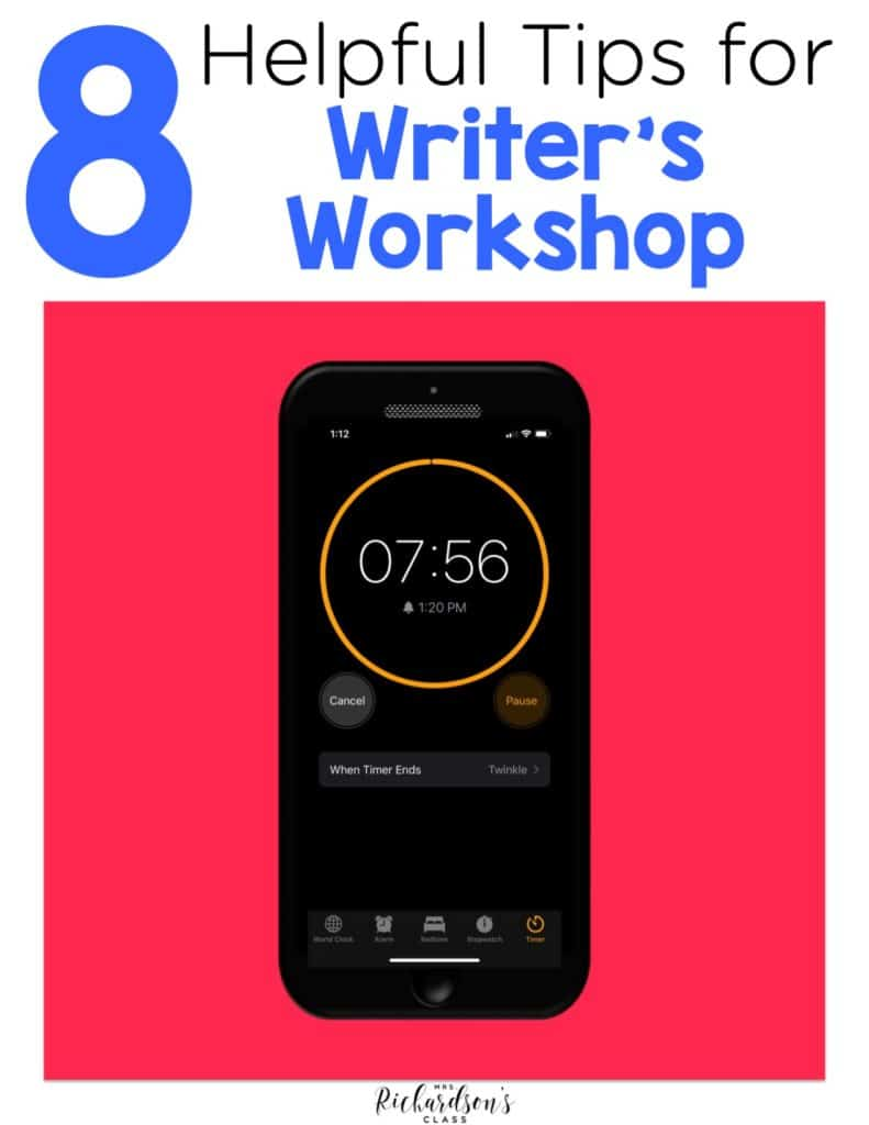 8 Helpful Tips for a Better Writer's Workshop