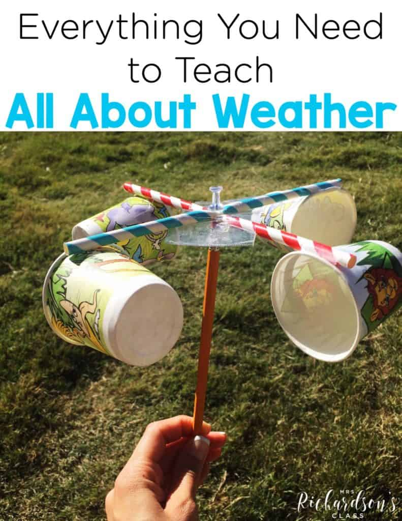 Everything You Need to Teach All About the Weather