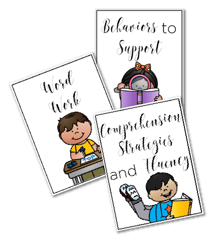 Free Guided Reading Resource Cards