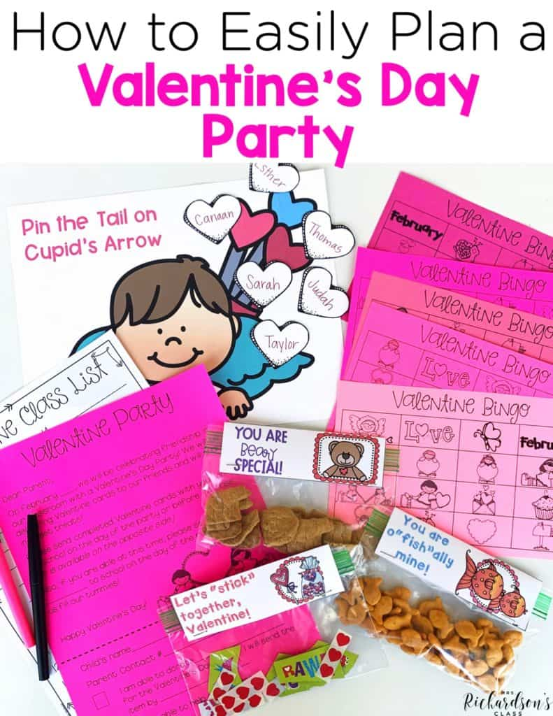 The Best Valentine's Day Party Pack   Games, Printables, Crafts, & More