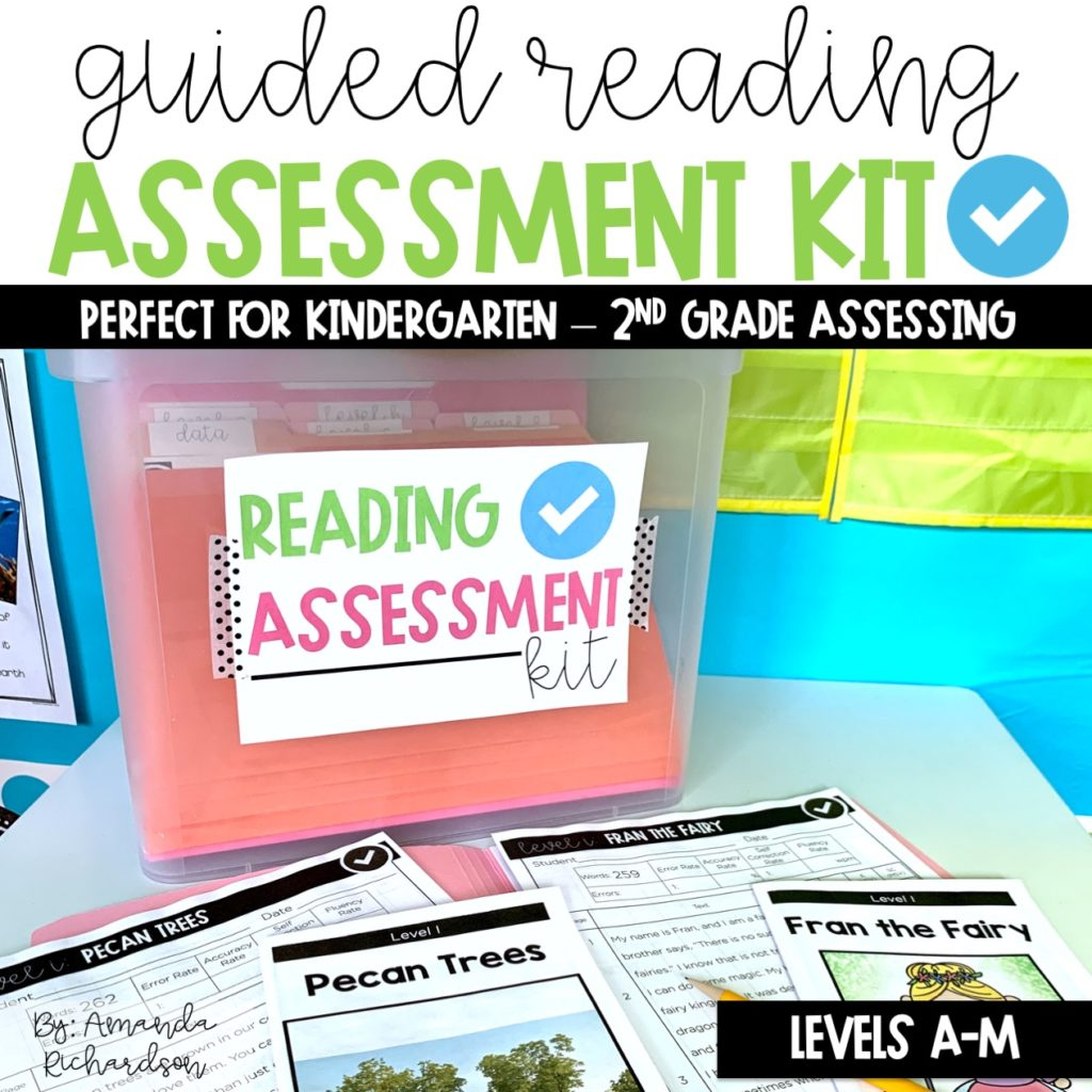 Guided reading level assessment kits are one way to understand the whole reader during reading assessments in kindergarten and first grade.
