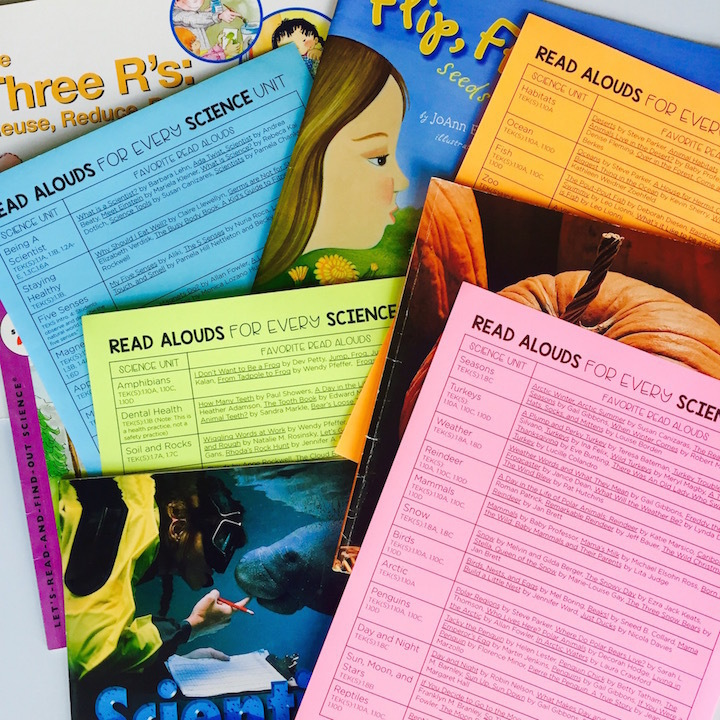 Use interactive read alouds during your next apple investigation to easily integrate science and literacy.